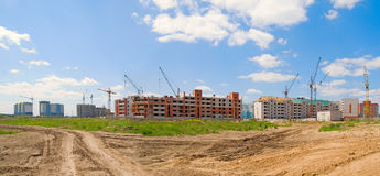 Building panorama Royalty Free Stock Photography