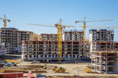 Building panorama Royalty Free Stock Image