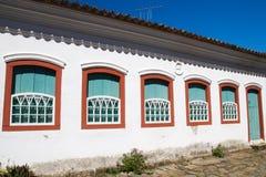 Building in Paraty, Rio de Janeiro Stock Image