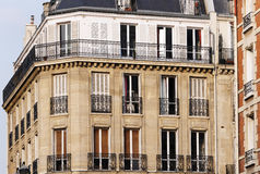 Building in paris center Royalty Free Stock Images