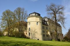Building in Park an der Ilm in Weimar Royalty Free Stock Image