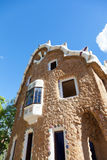 Building in Park Guell Stock Photo