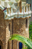 Building in Park Guell Barcelona Spain Royalty Free Stock Photography