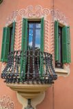 Building in Park Guell Barcelona Spain.  royalty free stock photography