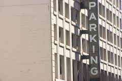 building parking στοκ φωτογραφία με δικαίωμα ελεύθερης χρήσης