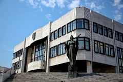 Building of parliament in Bratislava Royalty Free Stock Images