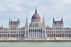 Building of Parliament in Budapest Royalty Free Stock Photos