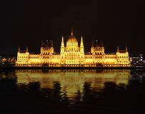 Building of Parliament, Budapest Royalty Free Stock Photography