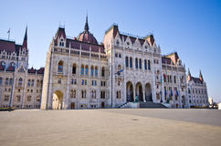 Building of Parliament in Budapest, Hungary Royalty Free Stock Image