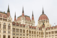 Building of Parliament in Budapest Royalty Free Stock Photography