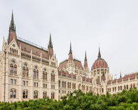 Building of Parliament in Budapest Royalty Free Stock Photo
