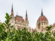 Building of Parliament in Budapest Stock Images