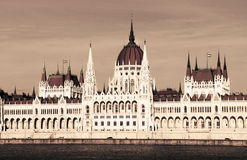 Building of Parliament, Budapest, Hungary Stock Photo