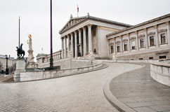Building of Parliament, Vienna, Austria Stock Photo