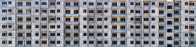 Building pattern. From precast method as a wallpaper and background Stock Images