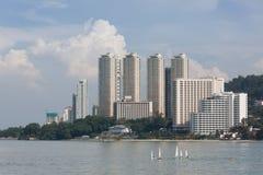 Building in penang , malaysia Stock Photos