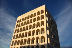 Building of people in Rome Royalty Free Stock Image