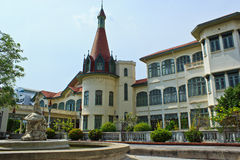 A building in Phyathai castle (outside) Stock Photography