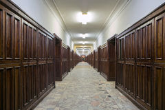 Building of Physics Department of Moscow State University Stock Photo