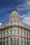 Building from Piazza de Ferrari in Genoa, Italy Royalty Free Stock Image