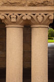 Building Pillars Stock Photography