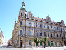 Building in Pisek Royalty Free Stock Image