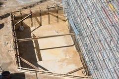 Building_pit Imagens de Stock