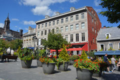 Building in Place Jacques-Cartier Stock Photography