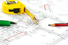 Building plan Stock Photography