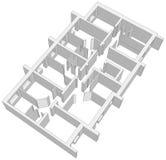 Building plan. Vector Stock Photography