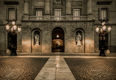 Architecture in Barcelona Royalty Free Stock Photo