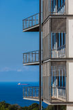 Building Porches Balconies Ocean Ship Royalty Free Stock Images