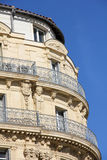 Building in the port of Marseilles Royalty Free Stock Photography