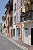 Building of Port-Vendres in France Stock Photo