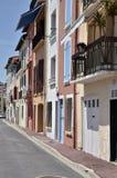 Building of Port-Vendres in France Stock Photo
