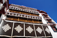 Building in Potala Palace Royalty Free Stock Photography