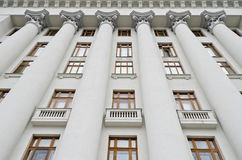 Building of President of Ukraine Stock Images