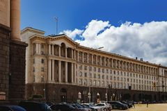 Building of Presidential Administration in Sofia Stock Photography