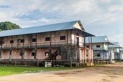 Building in a prison Camp de la Transportation royalty free stock image