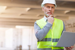 Building processes. Leader part Royalty Free Stock Images