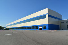 Building of production of automobile plant Stock Image