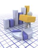 Building profits Stock Image