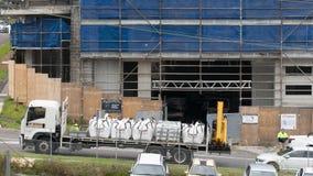 Building progress 153. At 47 Beane St. Gosford. November 2018 stock photos