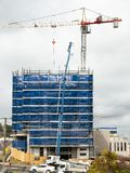 Building progress 122. At 47 Beane St. Gosford. September 2018. stock photo