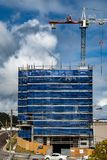 Building progress 132. At 47 Beane St. Gosford. September 2018. Gosford, New South Wales, Australia - September 5. 2018: Construction and building progress royalty free stock image