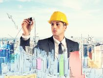 Building project Stock Images