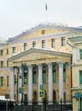 The building of the Prosecutor General office of the Russian Federation. The building of the Prosecutor General`s office of the Russian Federation photographed stock images
