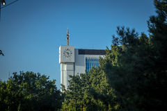 The building of publishing and printing company Sharq, Tashkent. Uzbekistan Royalty Free Stock Photo
