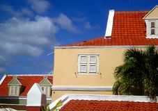 Building in Punda, Curacao Stock Images