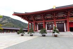 The pavilion in putuoshan buddha college, adobe rgb Stock Photo